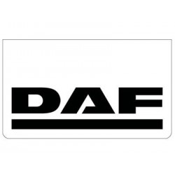 Bavette blanche DAF noir