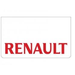 Bavette blanche RENAULT rouge