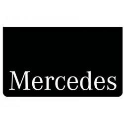 Bavette noire MERCEDES blanc