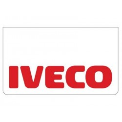 Bavette blanche IVECO rouge
