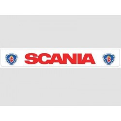 Bavette blanche SCANIA rouge