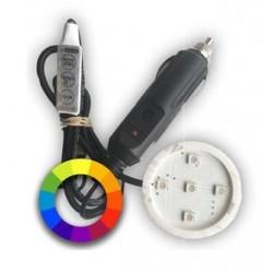 Support lumineux Poppy RGB