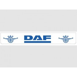 Bavette blanche DAF bleu