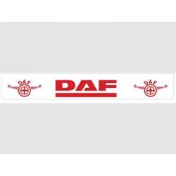 Bavette blanche DAF rouge