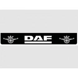 Bavette noire DAF blanc
