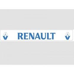 Bavette blanche RENAULT bleu