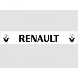 Bavette blanche RENAULT noir