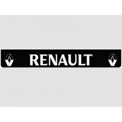 Bavette noire RENAULT blanc