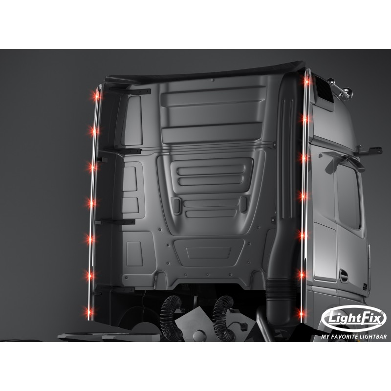 Barre de toit inox IVECO S-WAY - AS